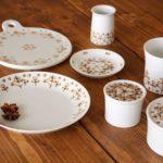 【白山陶器】北欧っぽい柄がかわいい「スピカ」シリーズ